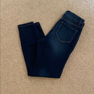 Ny & Co high waisted skinny jeans dark wash